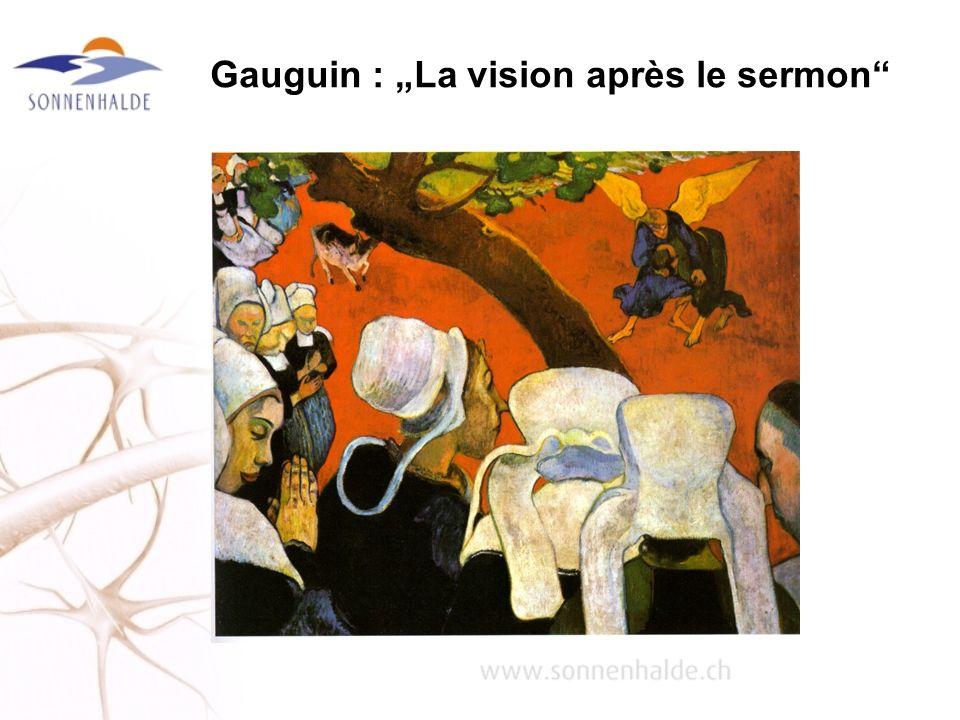 """Gauguin : """"La vision après le sermon"""