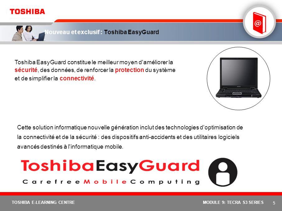Nouveau et exclusif : Toshiba EasyGuard