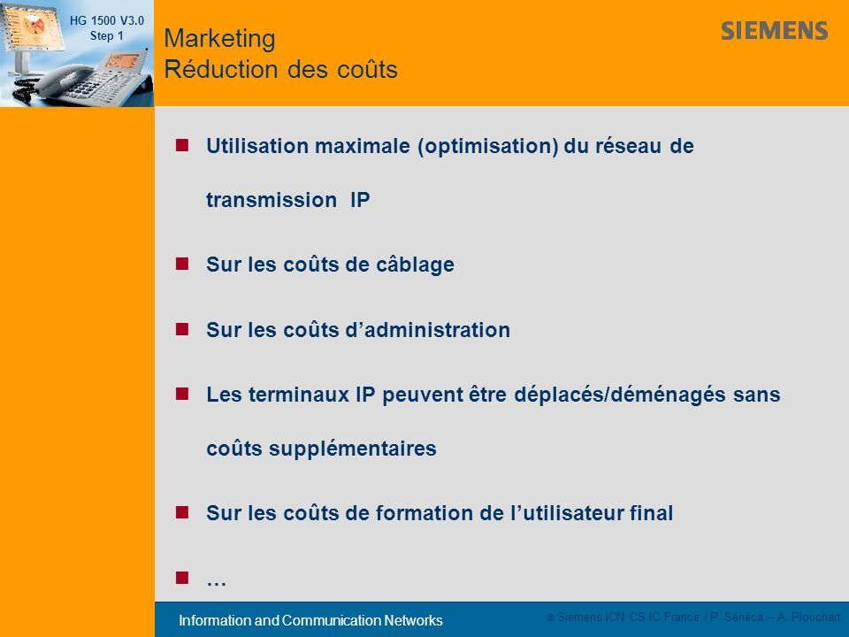 Marketing Réduction des coûts