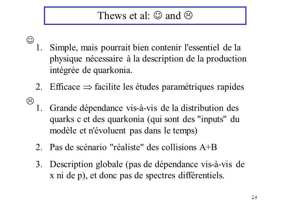 Thews et al:  and  