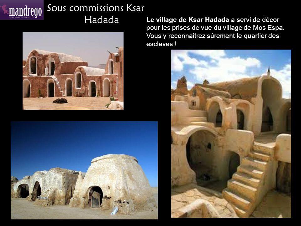 Sous commissions Ksar Hadada