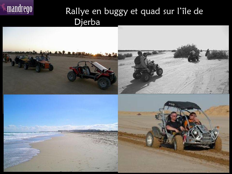 Rallye en buggy et quad sur l'île de Djerba