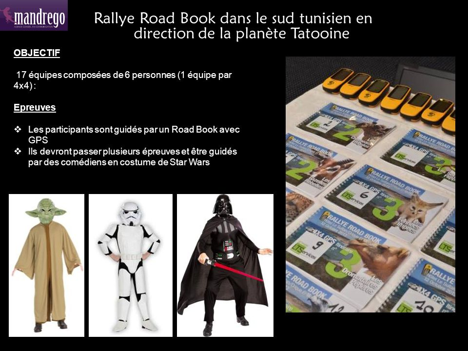 Rallye Road Book dans le sud tunisien en direction de la planète Tatooine