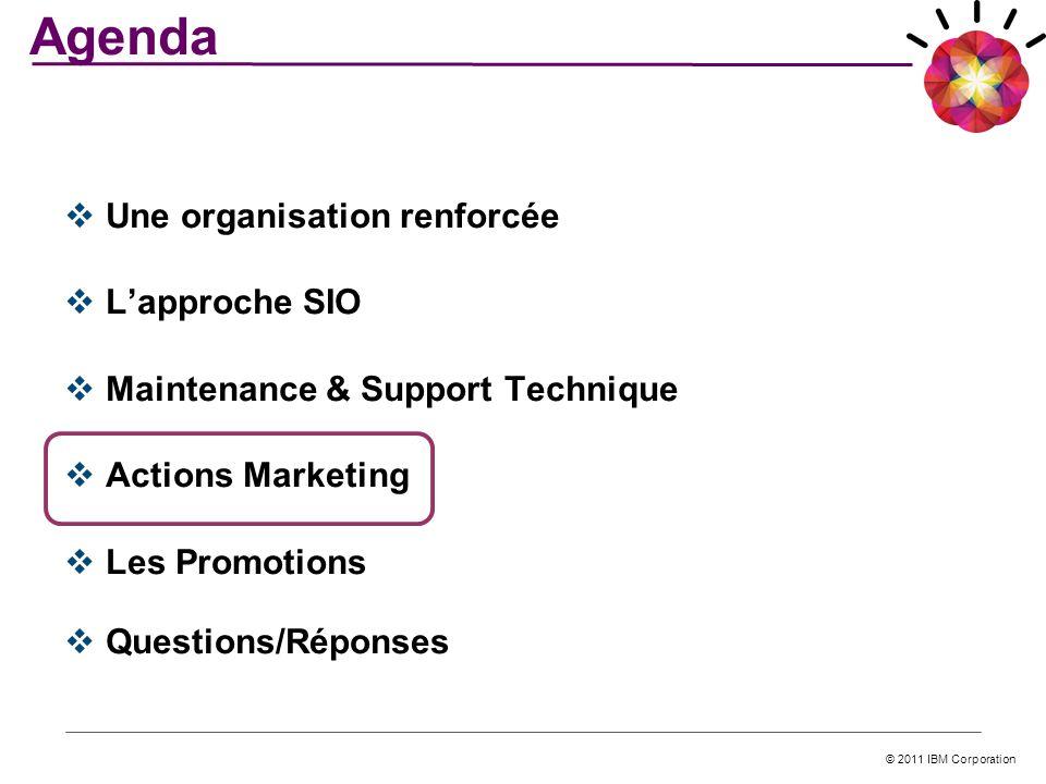 Agenda Une organisation renforcée L'approche SIO