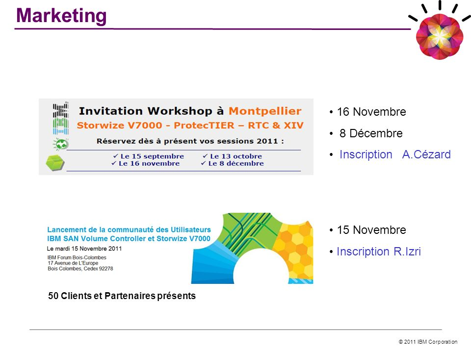 Marketing 16 Novembre 8 Décembre Inscription A.Cézard 15 Novembre