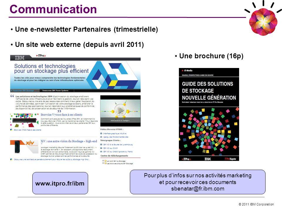 Communication Une e-newsletter Partenaires (trimestrielle)