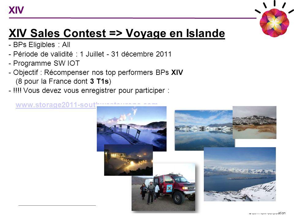XIV Sales Contest => Voyage en Islande