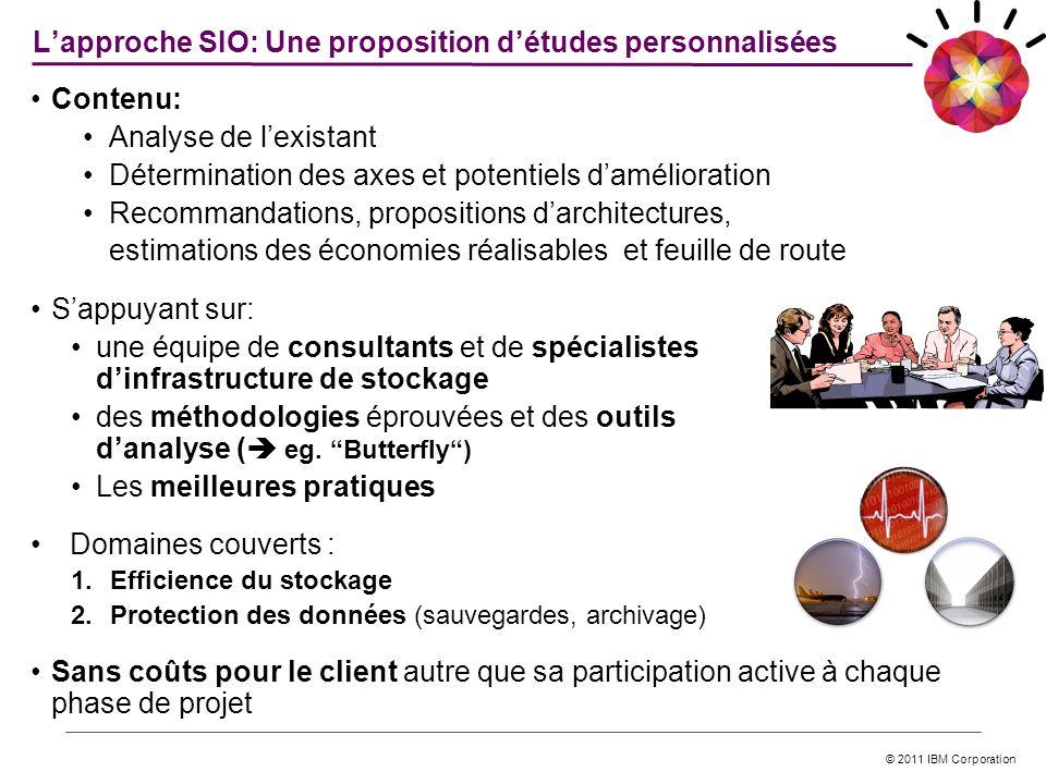 L'approche SIO: Une proposition d'études personnalisées