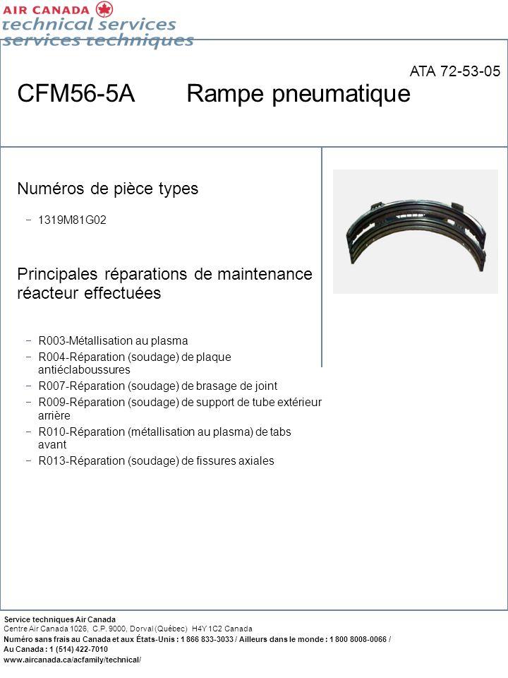 CFM56-5A Rampe pneumatique