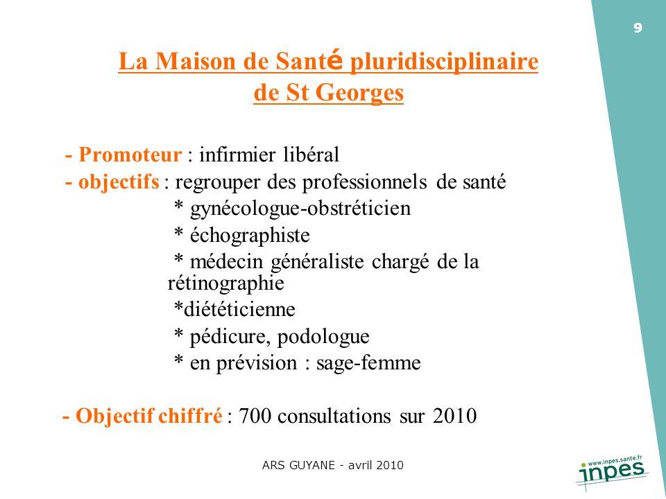 La Maison de Santé pluridisciplinaire de St Georges