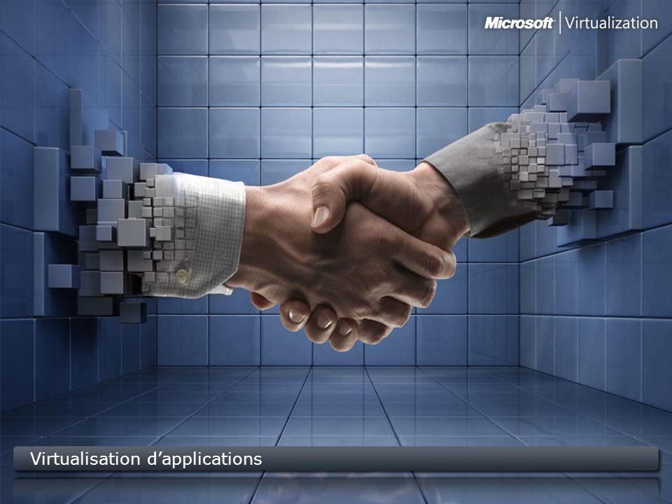 Virtualisation d'applications