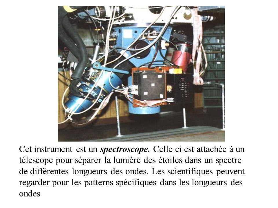 Cet instrument est un spectroscope