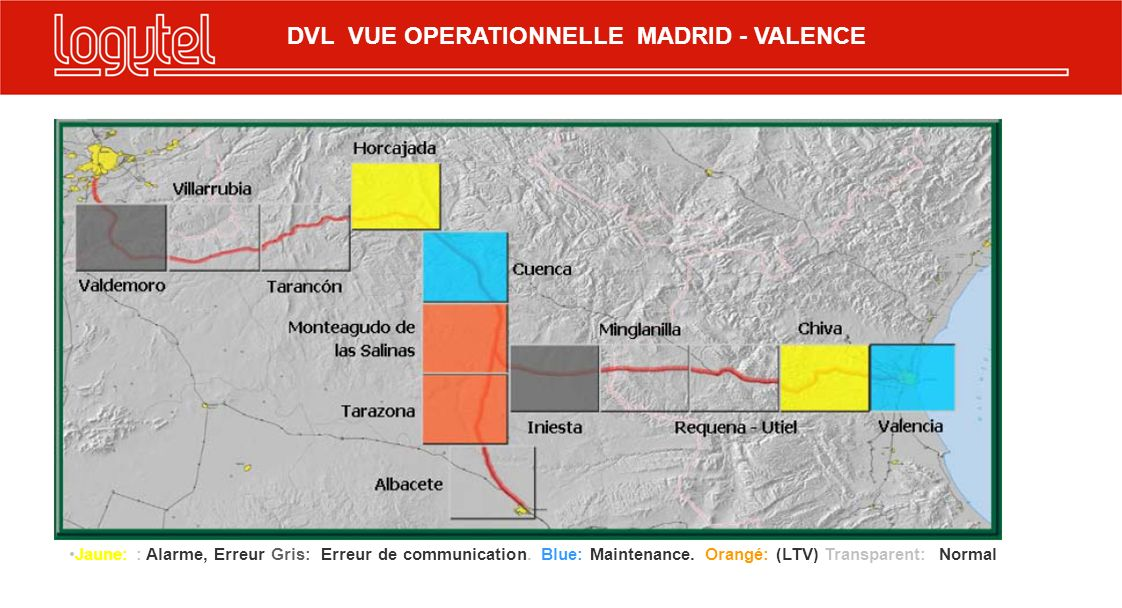 DVL VUE OPERATIONNELLE MADRID - VALENCE