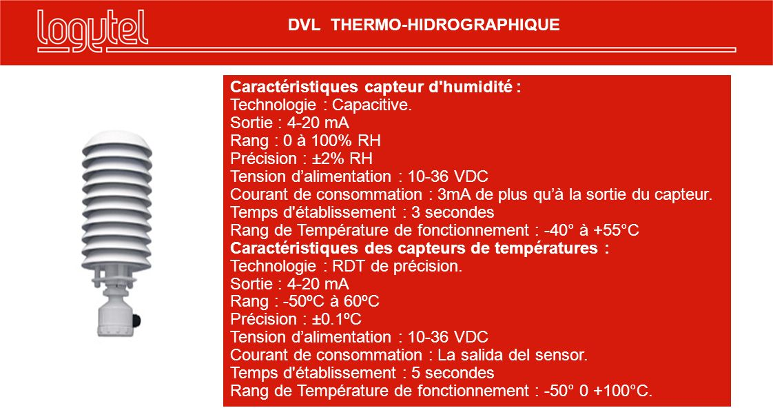 DVL THERMO-HIDROGRAPHIQUE