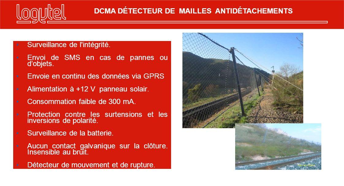 DCMA DÉTECTEUR DE MAILLES ANTIDÉTACHEMENTS