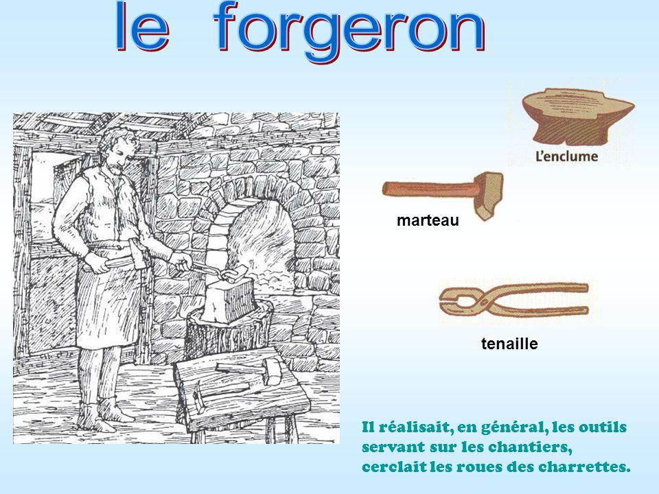 le forgeron marteau tenaille