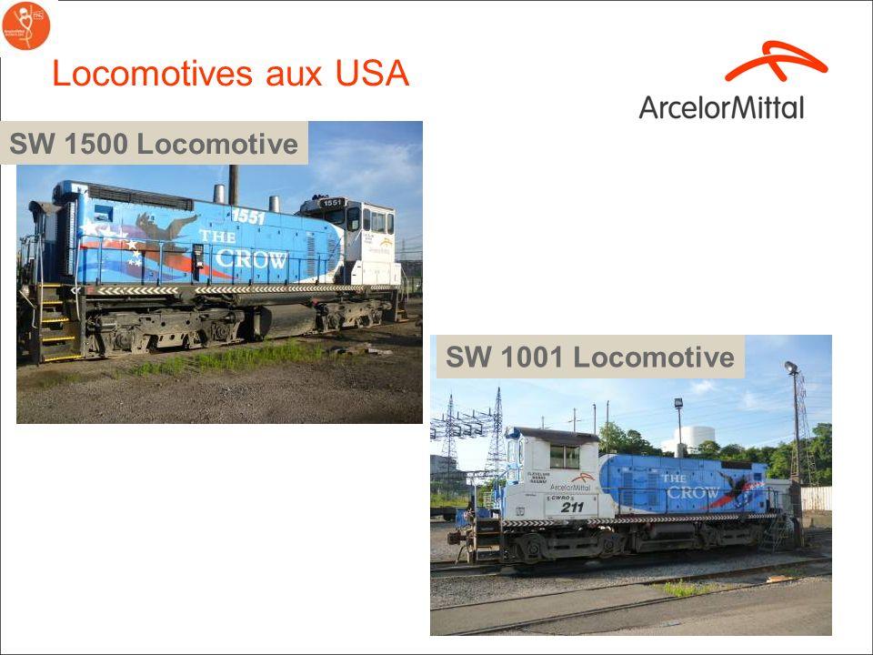 Locomotives aux USA SW 1500 Locomotive SW 1001 Locomotive 18