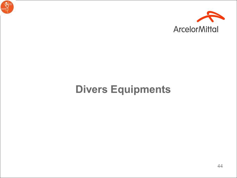Divers Equipments