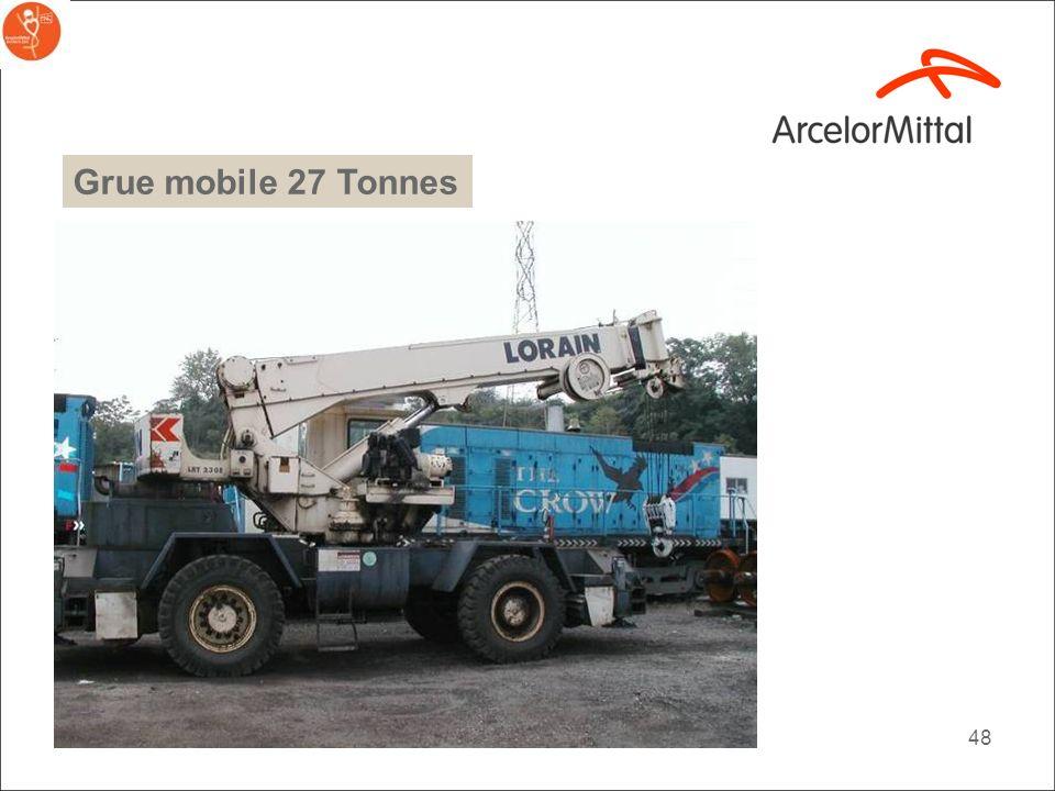 Grue mobile 27 Tonnes