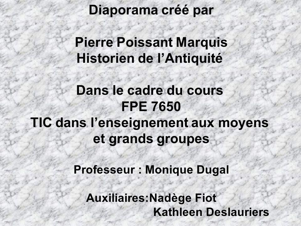 Pierre Poissant Marquis Historien de l'Antiquité