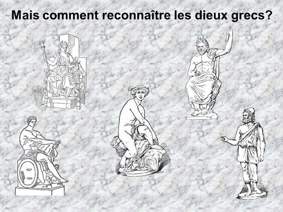 Mais comment reconnaître les dieux grecs