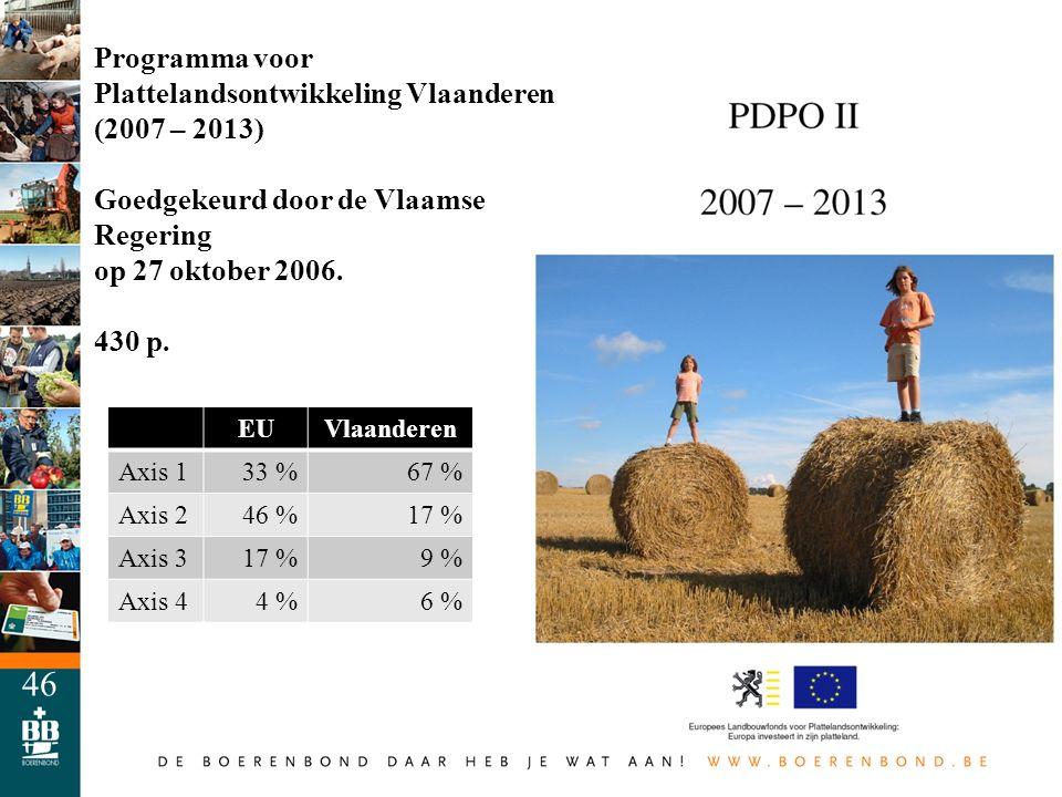 Programma voor Plattelandsontwikkeling Vlaanderen (2007 – 2013)