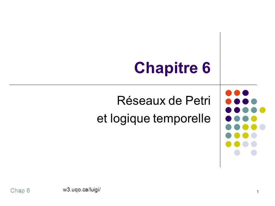 Réseaux de Petri et logique temporelle