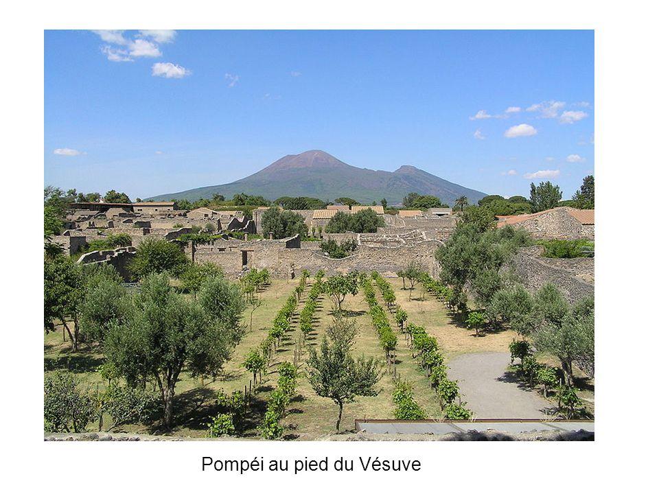 Pompéi au pied du Vésuve
