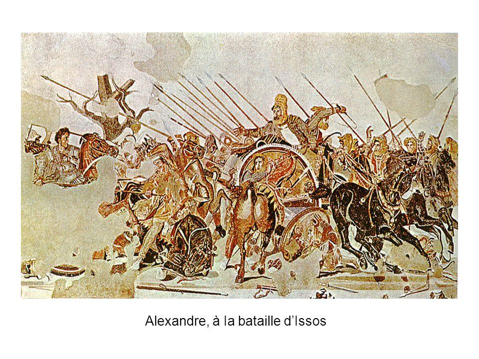 Alexandre, à Ia bataille d'Issos