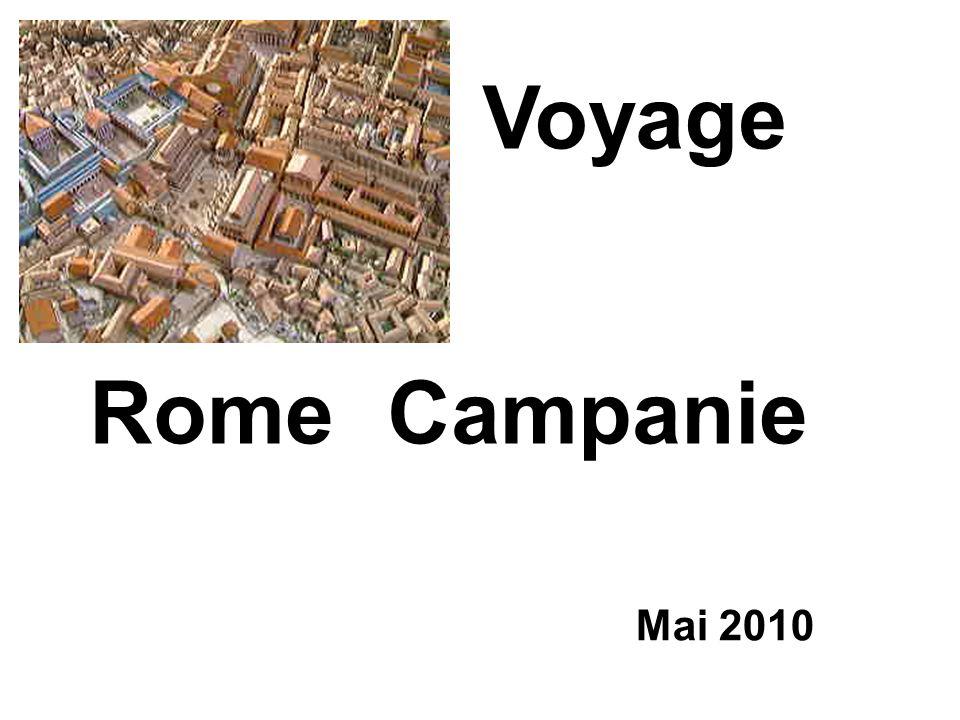 Voyage Rome Campanie Mai 2010
