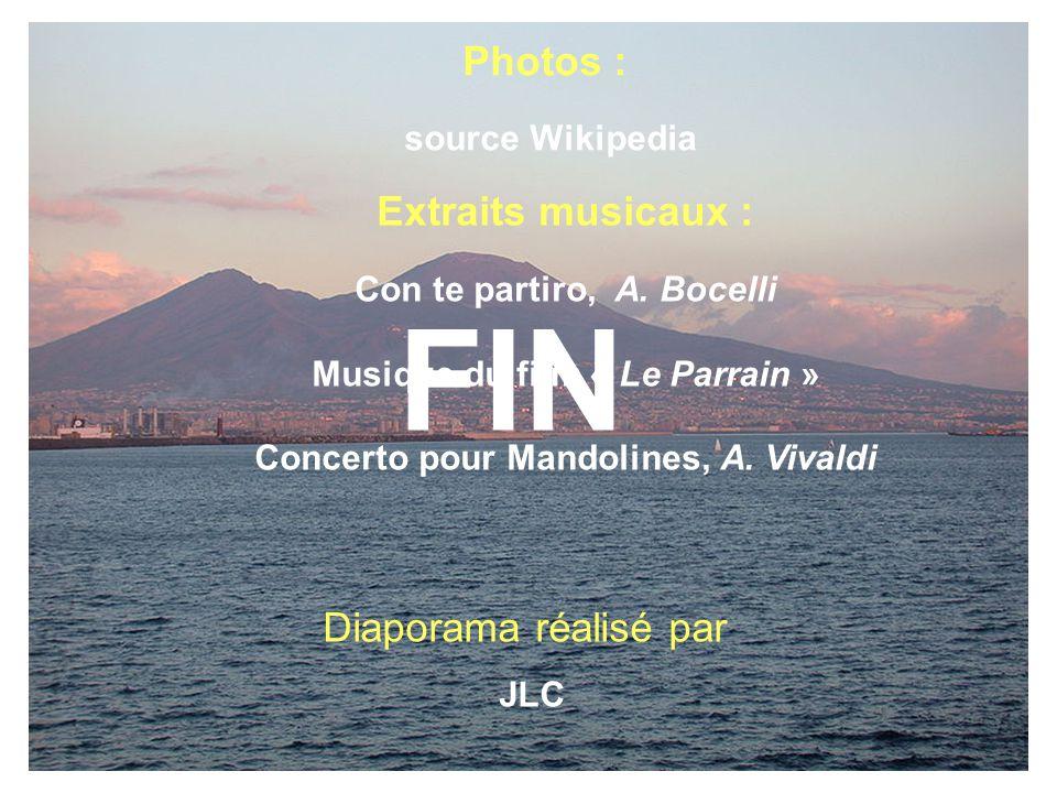 FIN Diaporama réalisé avec des photos Empruntées à Wikipédia Photos :
