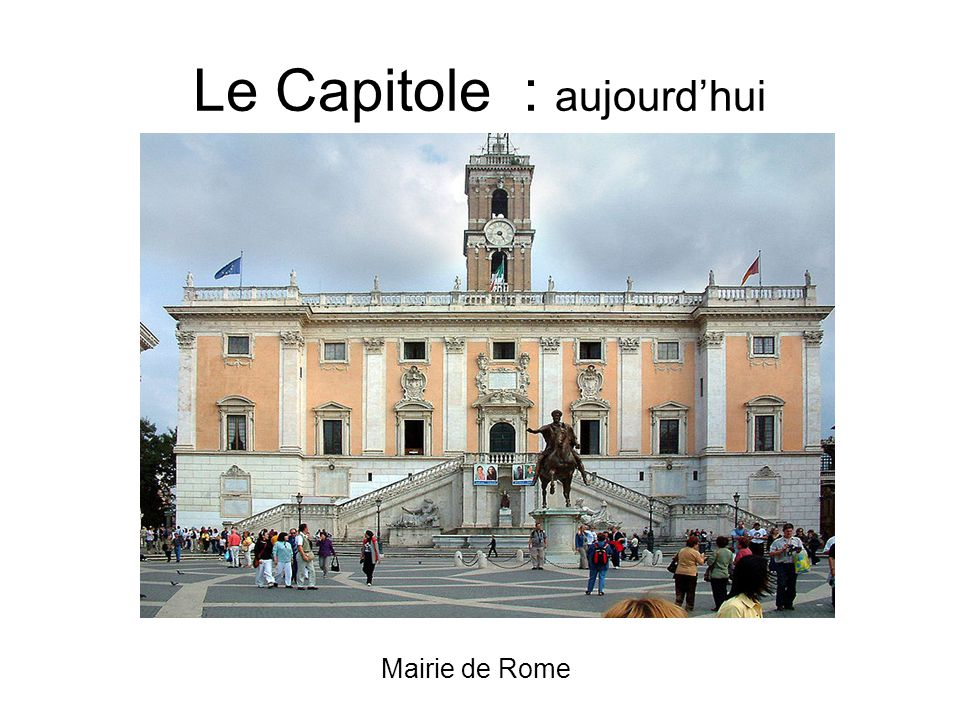 Le Capitole : aujourd'hui