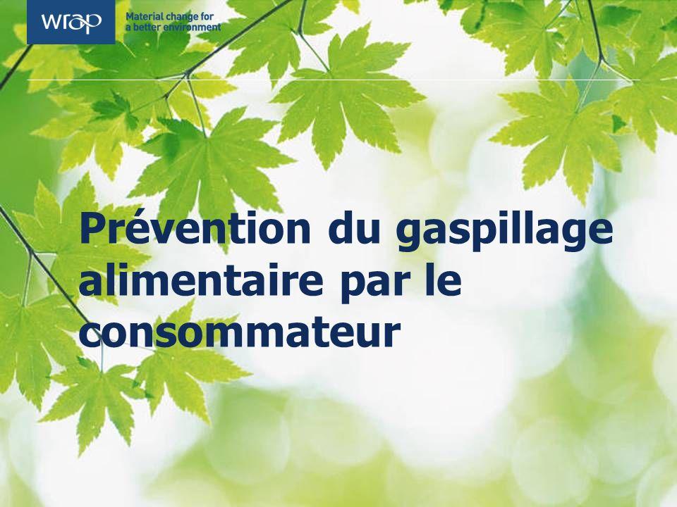 Prévention du gaspillage alimentaire par le consommateur