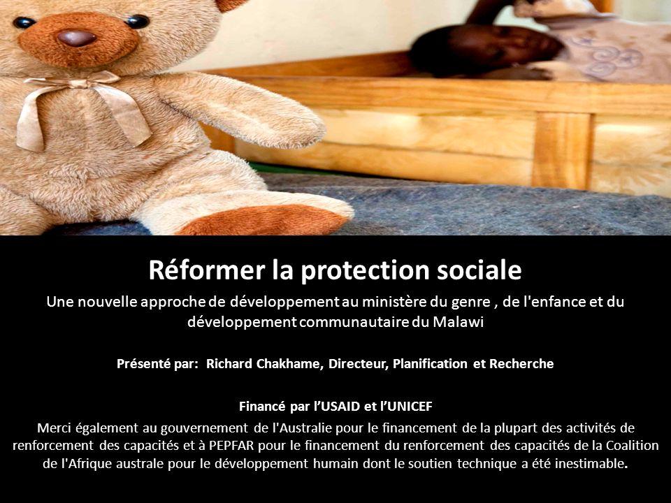 Réformer la protection sociale