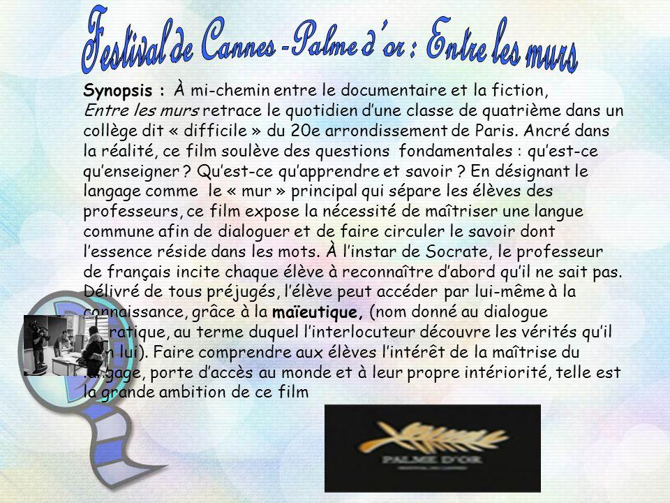 Festival de Cannes -Palme d'or : Entre les murs