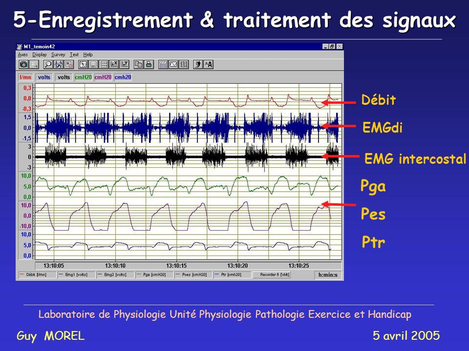 5-Enregistrement & traitement des signaux