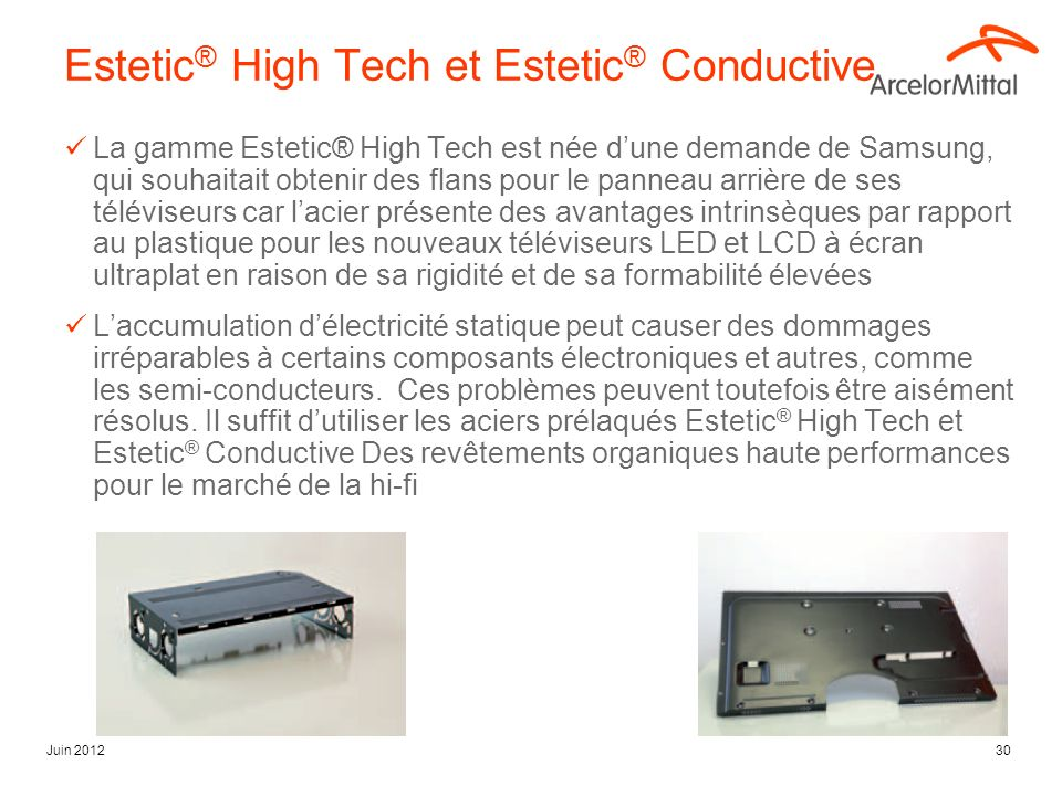 Estetic® High Tech et Estetic® Conductive