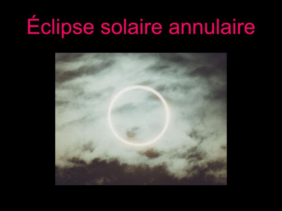 Éclipse solaire annulaire