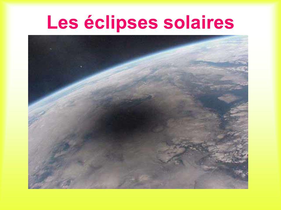 Les éclipses solaires
