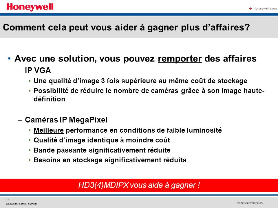 HD3(4)MDIPX vous aide à gagner !