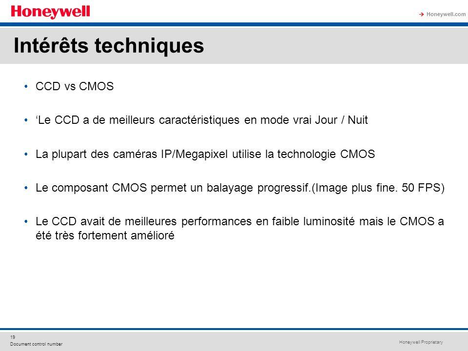 Intérêts techniques CCD vs CMOS