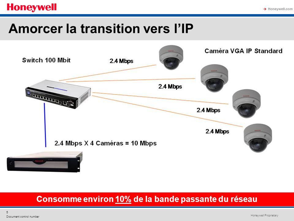 Consomme environ 10% de la bande passante du réseau