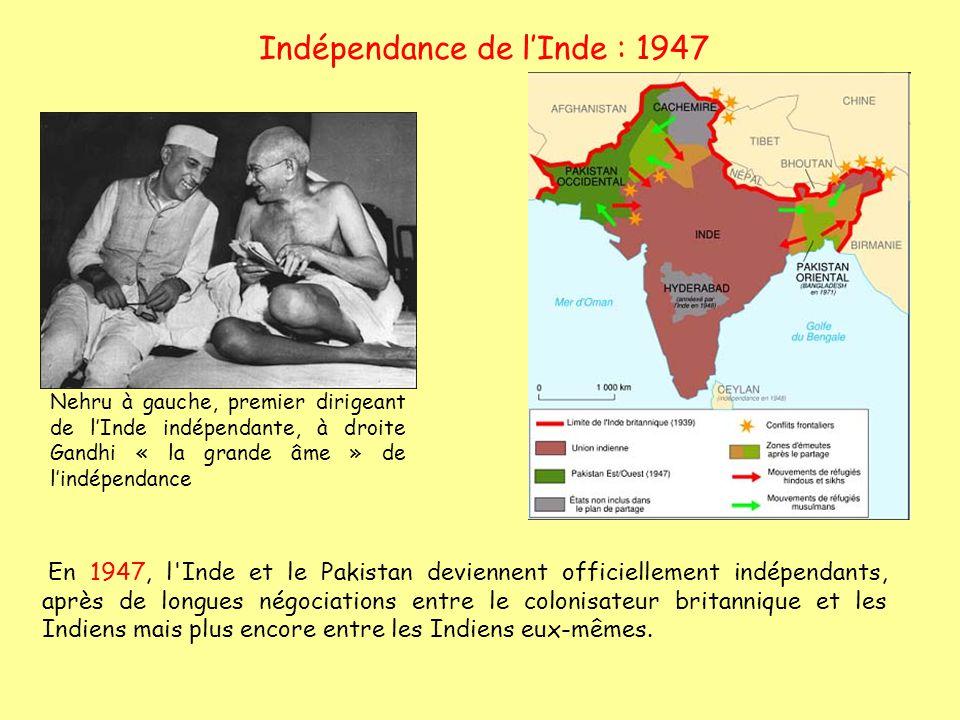 Indépendance de l'Inde : 1947