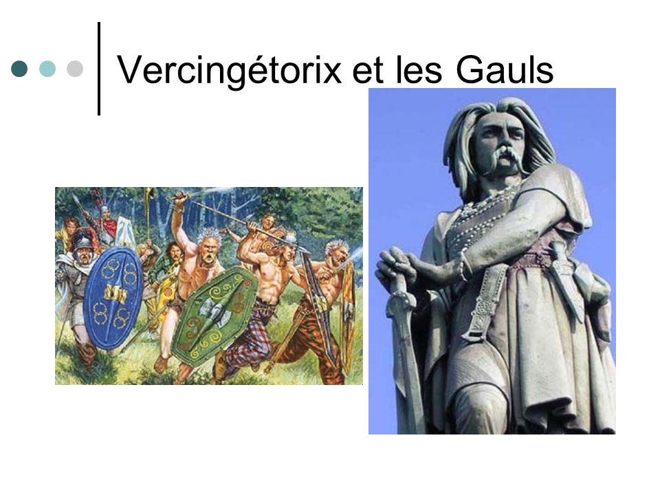 Vercingétorix et les Gauls