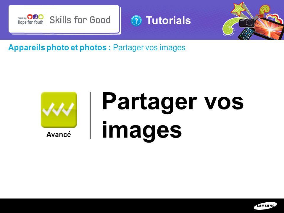 Partager vos images Appareils photo et photos : Partager vos images