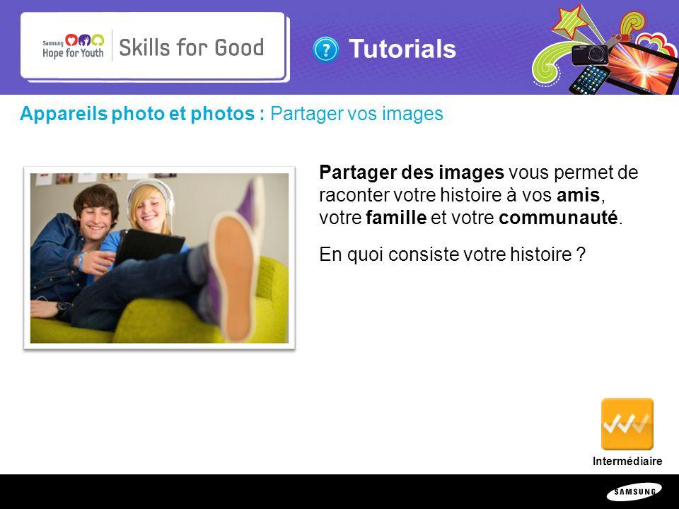 Appareils photo et photos : Partager vos images