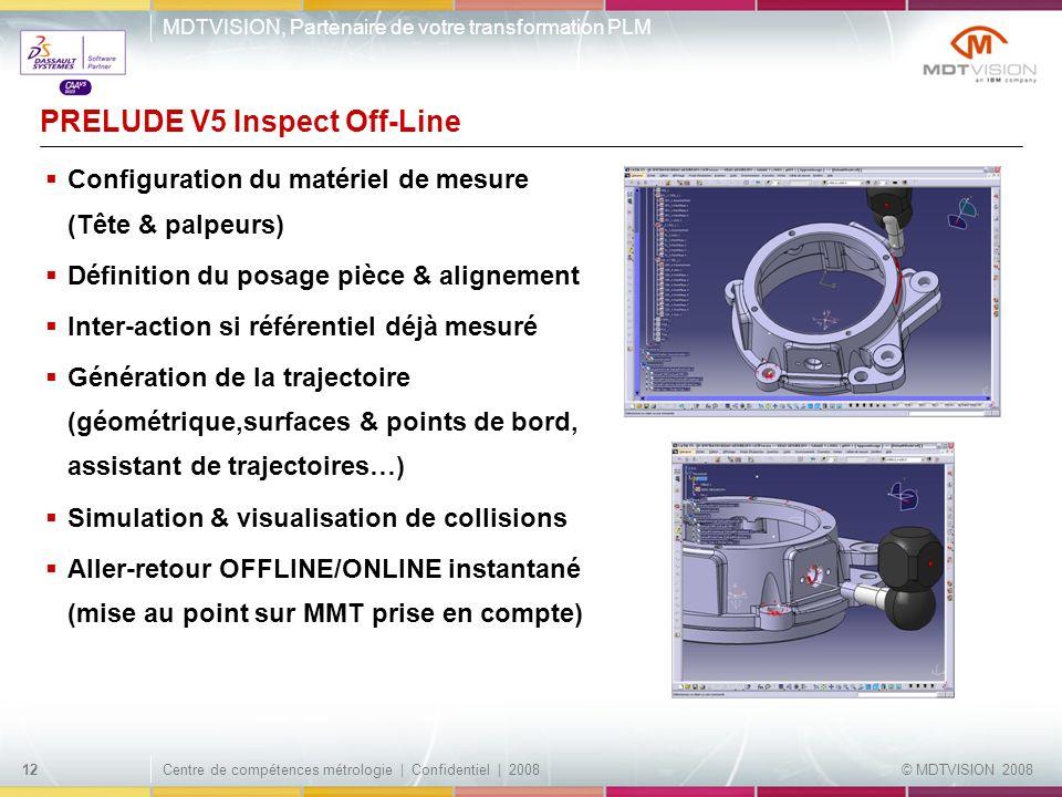 PRELUDE V5 Inspect Off-Line