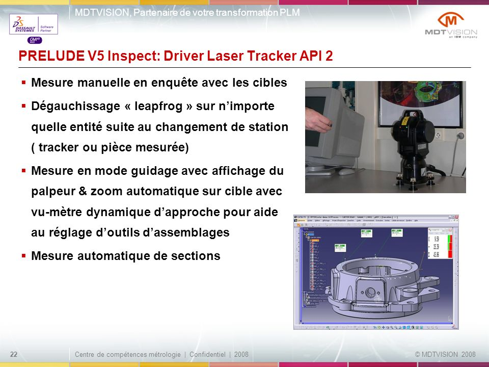 PRELUDE V5 Inspect: Driver Laser Tracker API 2