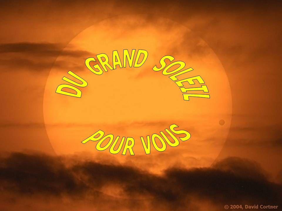 DU GRAND SOLEIL POUR VOUS