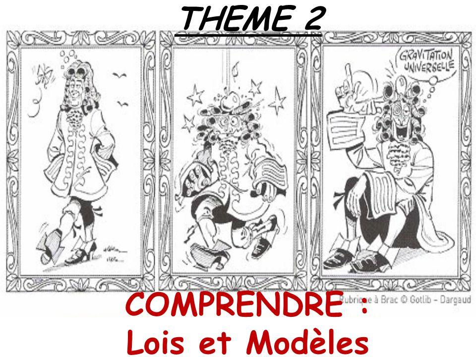 THEME 2 COMPRENDRE : Lois et Modèles